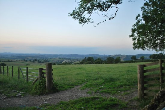 Graig Farm Cottages: View from the grounds