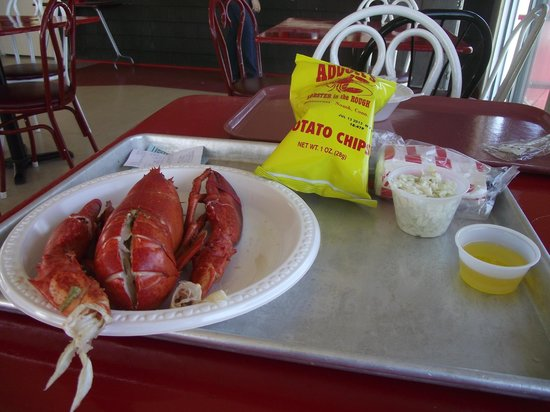 Abbott's Lobster In The Rough: Lobster meal