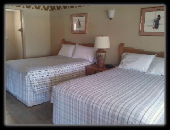 Jacumba Hot Springs Hotel: Double Room