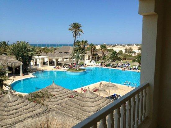 Djerba Golf Resort & Spa : Vista dal terrazzo
