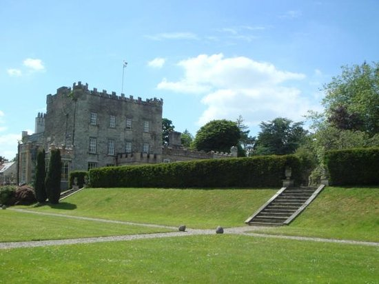Huntington Castle : View from the lawn