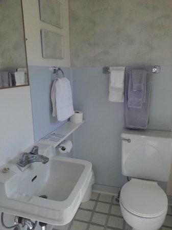 Boundary Creek Motel and RV Park: bathroom