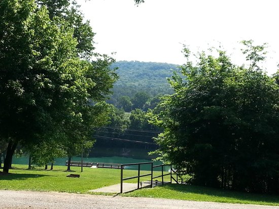 Horse Cave KOA: View from our campsite