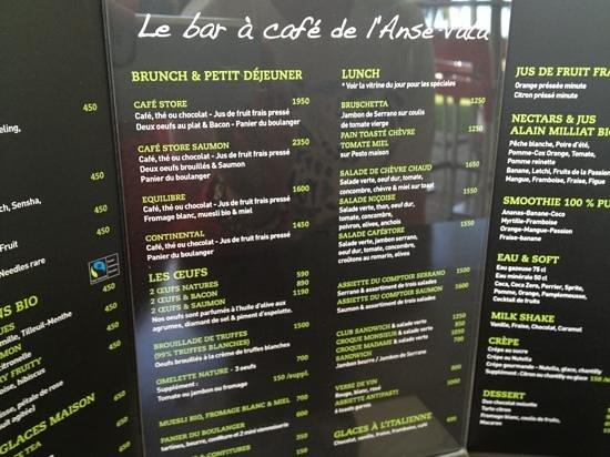 Malongo: menu