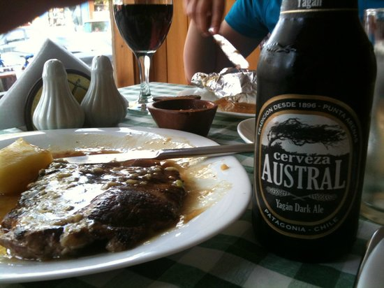 El Maritimo : 1st Meal in Town After Torres Del Paine W-Trek