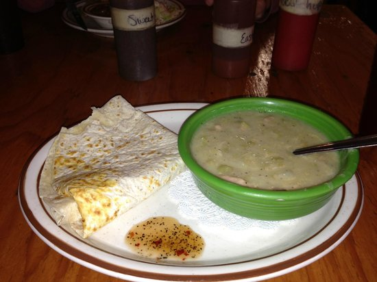 """Smoke Shack: """"Made it with Love"""" Green Chile Soup"""