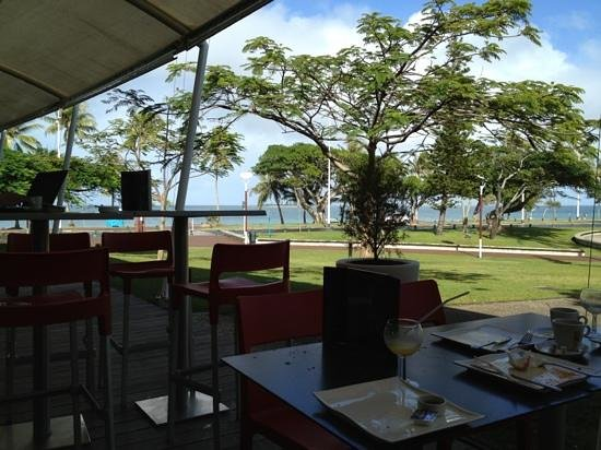 Malongo: view from cafe