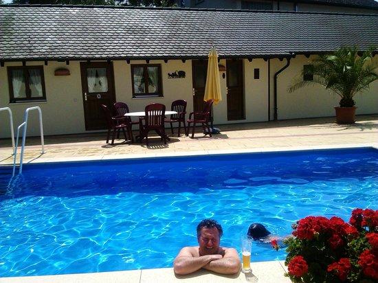 Hotel-Landgasthof zum Adler: piscina
