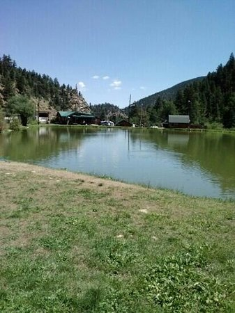The pond picture of mount evans trout fishing idaho for Fishing colorado springs