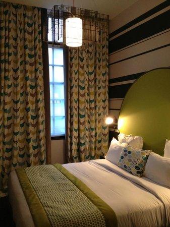 Hotel Fabric : Notre chambre