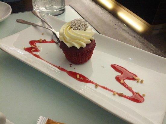 Montelado: Cupcake de frutas del bosque, muy rico!