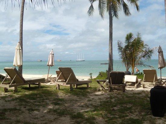 Kantary Bay, Phuket: Seaview from private beach at Cape Panwa