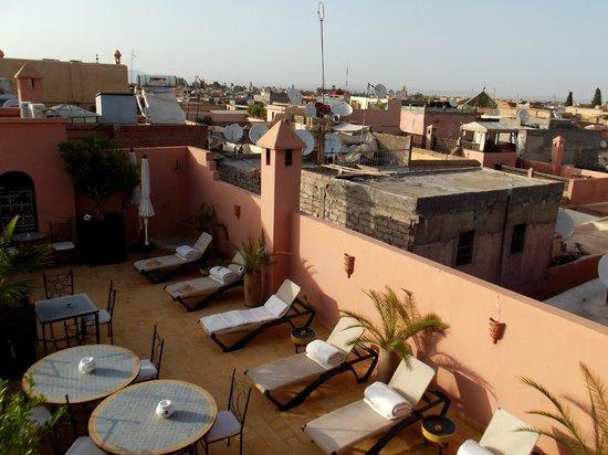 Riad Alboraq : Terrasse du Riad