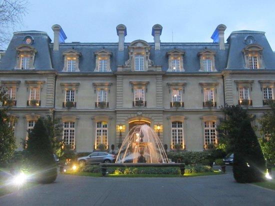 The Hotel Bilde Av Saint James Paris Relais Et