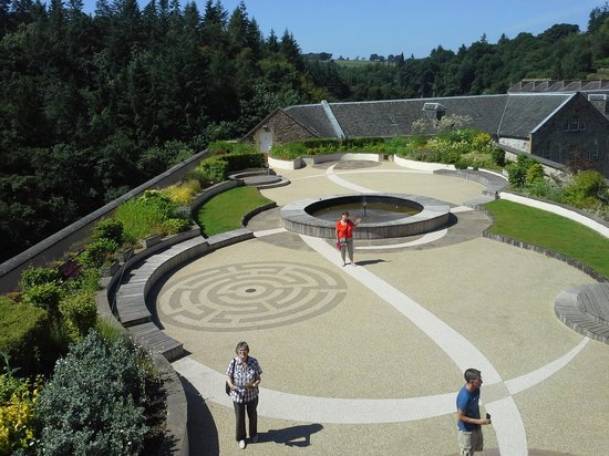 New Lanark World Heritage Village: roof top