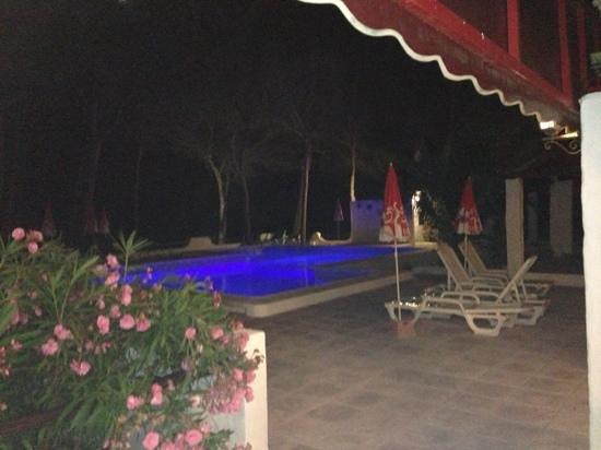 Hotel Casbah Formentera : la piscina
