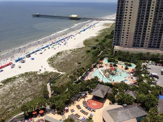 Embassy Suites by Hilton Myrtle Beach-Oceanfront Resort : view from 20th floor