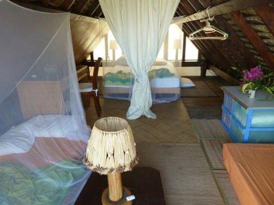 Vahaui Paradis : La chambre en mezzanine