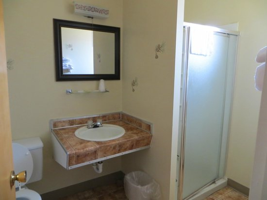 Stampede Inn: The bathroom