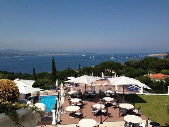 Villa Belrose Hotel: Inoubliable panorama