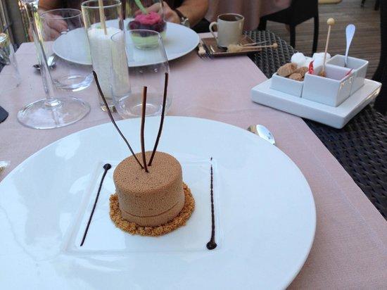 Chateau de Champlong: dessezrt choco caramel