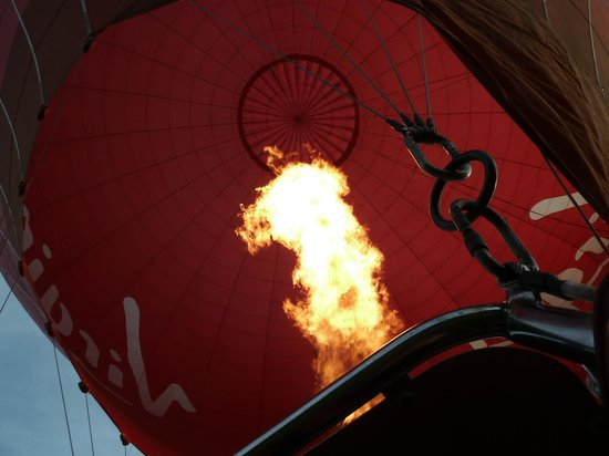 Virgin Balloon Flights - Burton in Lonsdale: Ready for take off
