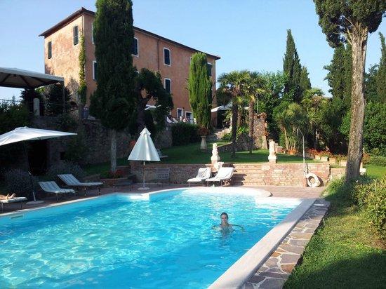 Villa il Poggio: Paradisisch