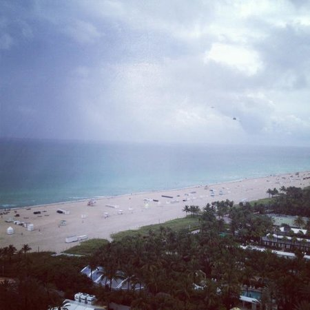 Shore Club South Beach Hotel: View from suite