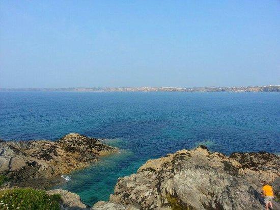 Parkdean - Holywell Bay Holiday Park : sea
