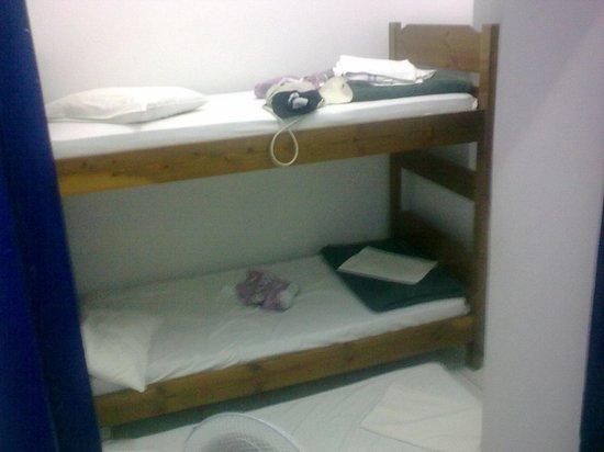 The Student & Travellers Inn : notre chambre de secours pour 3