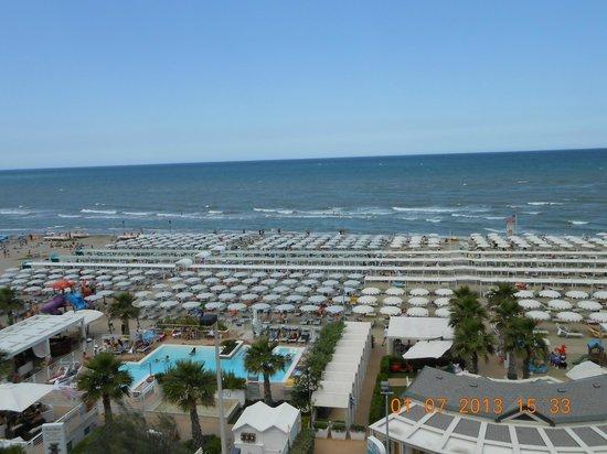 Hotel Ca' Bianca: dal balcone del corridoio camere