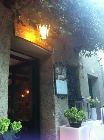 Tavernetta all'Androna : ingresso
