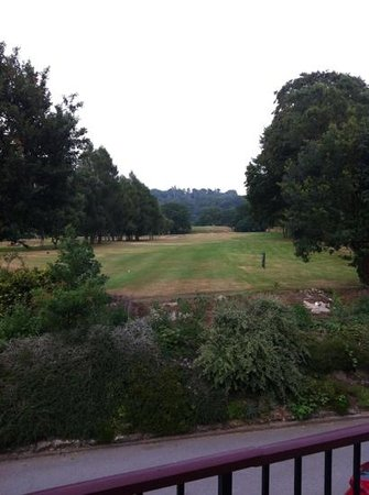 Weston-under-Redcastle, UK: 5th tee from the room