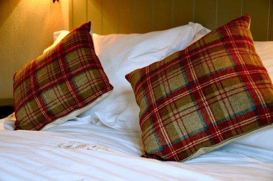 The Lodge at Manor Barn Bed and Breakfast: Egyptian cotton bedding