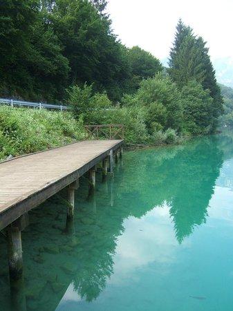 Lago di Barcis : pontile