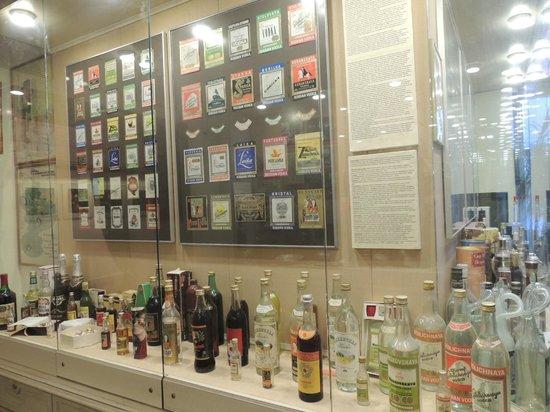 Russian Vodka Museum: штофы и шкалики