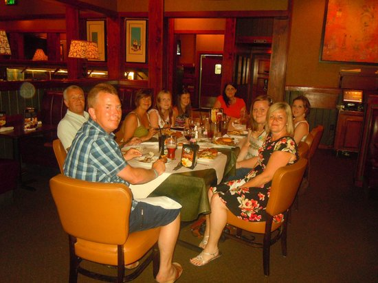 Ruby Tuesday: Great photo of us all taken by the server