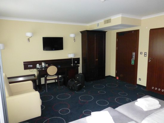 Hotel Admiral: View of room