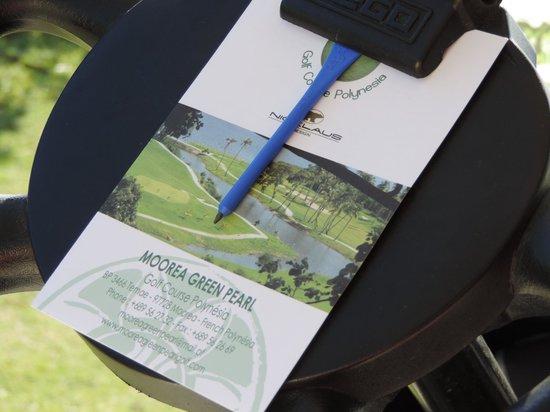 Moorea Green Pearl Golf Course : stress free