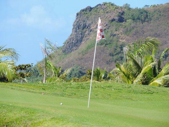 Moorea Green Pearl Golf Course : great views