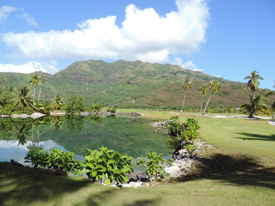 Moorea Green Pearl Golf Course : another gem