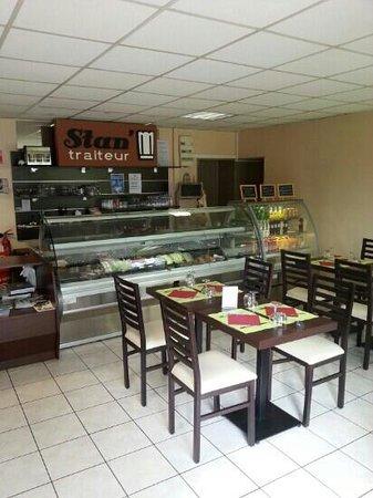 Stan' traiteur Restaurant : 1ére salle du restaurant