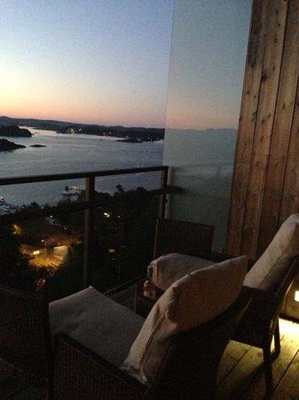 Kragero Resort : balkong