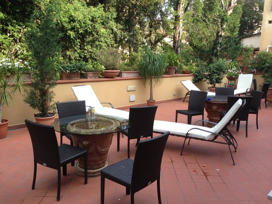 Hotel Ilaria: Terrace