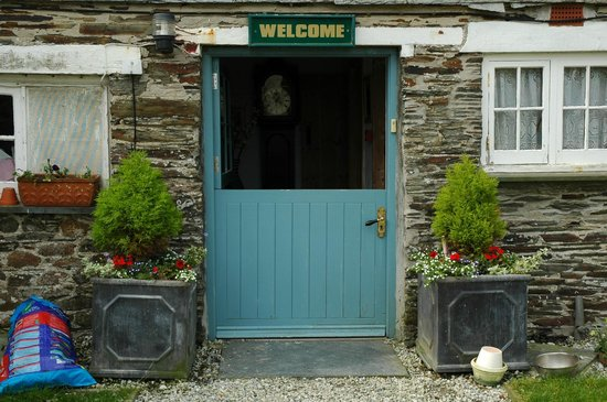 Trewetha Farm B&B : Welcoming entrance