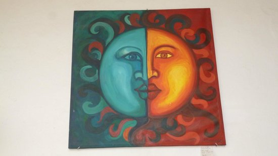 Hostal Zocalo: Este es uno de los cuadros que podrán ver en la sala principal