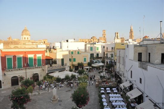 Palazzo Indelli : Panorama dalla nostra camera...