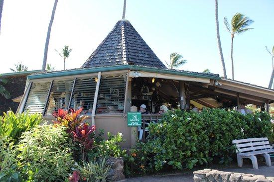 Gazebo Restaurant at Napili Shores: The Gazebo