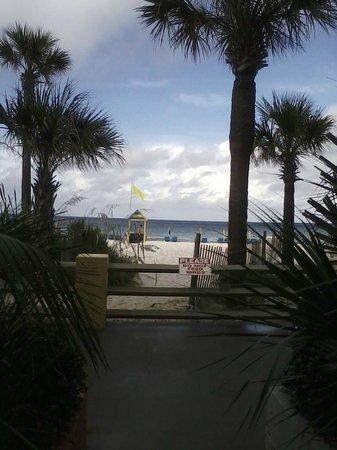 Beachbreak By The Sea: Taken sitting outside my room