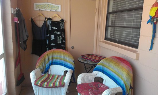 Gulf Beach Resort Motel : Porch of 308